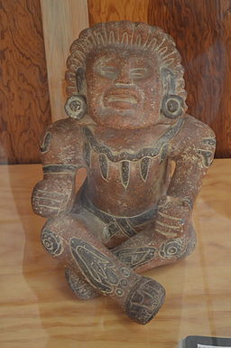 Xochipilli, from the Museo Regional Altepepialcalli in Milpa Alta, Mexico City (Photo by Alejandro Linares Garcia)