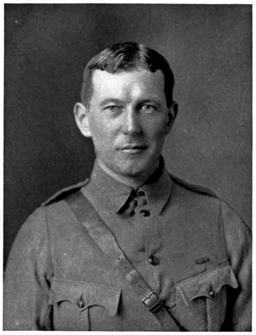 "John McCrae, author of ""In Flanders Fields"""