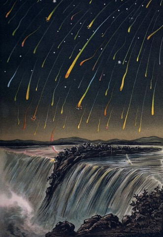 Leonid Meteor Shower, 1833