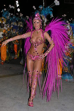 Rio Carnevale queen
