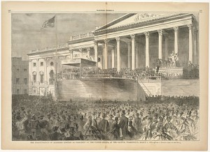 Inauguration of President Lincoln