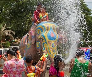 Songkran, Thailand