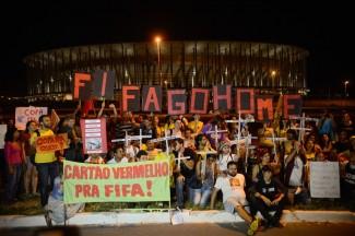 FIFA protests in Brazil