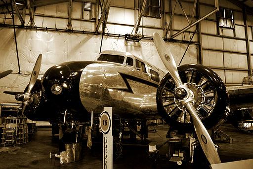 Lockheed Electra 10A aircraft