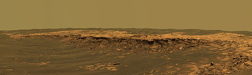 Mars landscape, Opportunity Rover