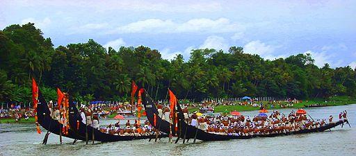 Snake boats, India