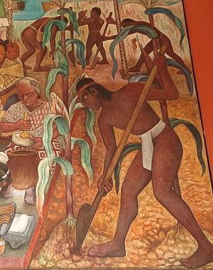Diego Rivera - planting maize