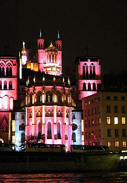 Festival of Lights, Lyon, 2006
