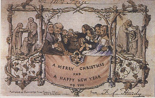 The first Christmas card (1843)