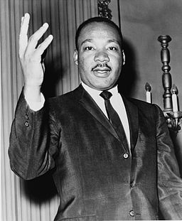 Martin Luther King Jr. in 1964