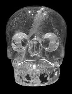 Crystal Skull (symbolic of Kimi) at the British Museum. Photo Credit: By Vassil [CC0], via Wikimedia Commons