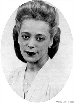 Viola Desmond, a Canadian businesswoman who challenged racial segregation in 1946. She will be the first Canadian woman to be featured on a Canadian banknote. Photo Credit: Public Domain via Wikimedia Commons.
