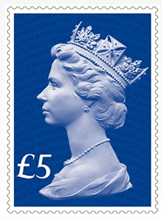 Special commemorative stamp issued to mark the 65th anniversary of Queen Elizabeth II's accession to the throne.