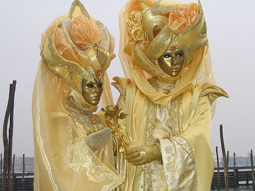 Carnevale in Venice. Photo credit: Wanblee via Wikimedia Commons
