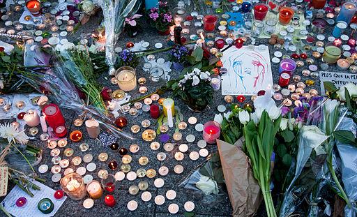 Paris Street Memorial, 2015